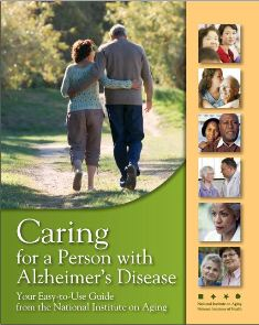 Caring for a person with Alzheimer's