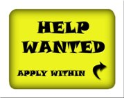 Help Wanted Apply Within