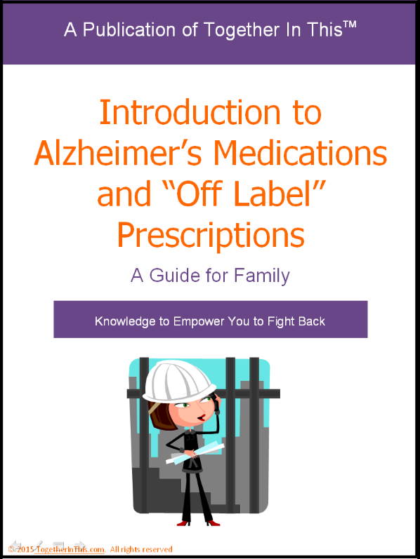 "Cover of the Introduction to Alzheimer's Medications and ""Off Label"" Prescriptions Guide"