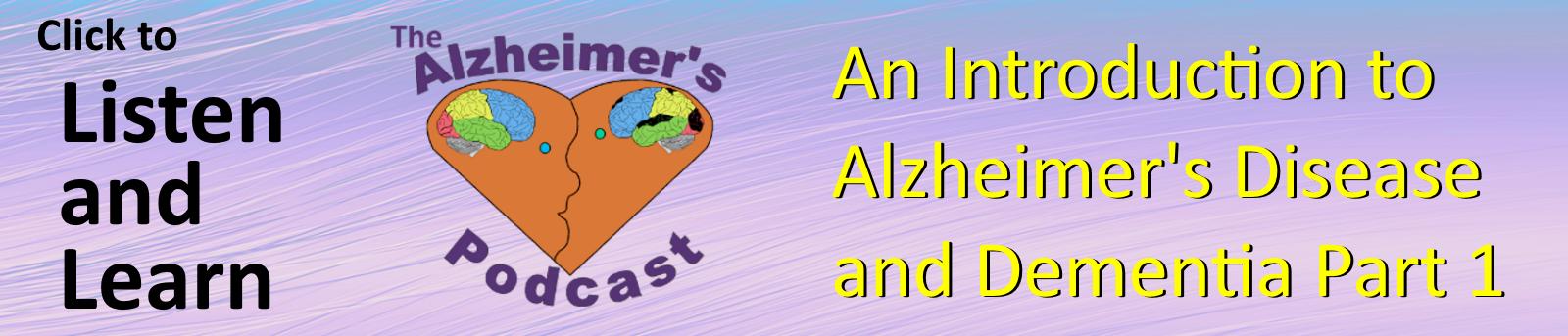 Episode 7 of The Alzheimer's Podcast