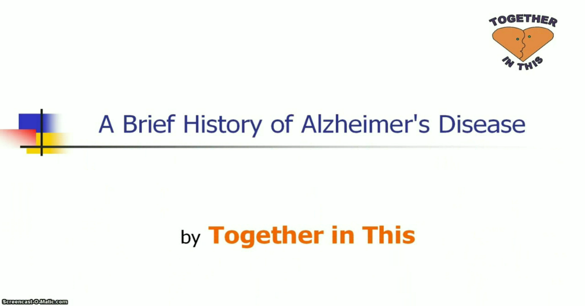 history of alzheimers Alzheimer's disease a brief history today i'll be briefly speaking about the history of alzheimer's coursera provides universal access to the world.