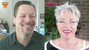 Mike Good and Susan Macualay during the Together in This Dementia Conversation: Do You See the Person and Not Their Dementia?