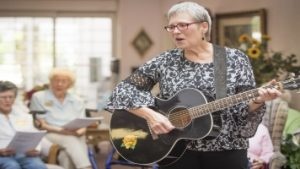 Mary Sue Wilkinson Dementia Care Music Trainer