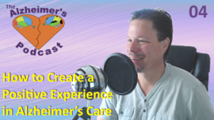 Mike Good hosting episode 4 of the The Alzheimer's Podcast