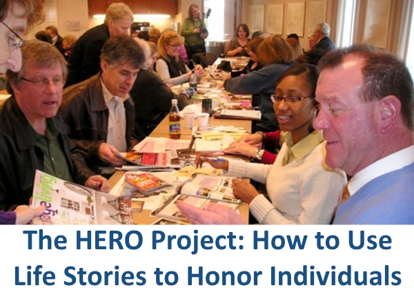 Group of people participating in the HERO project