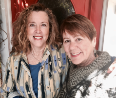 Katie Ortlip and Jahnna Beecham, authors Living With Dying: A Complete Guide for Caregivers