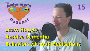 Mike Good hosting episode 15 of the The Alzheimer's Podcast