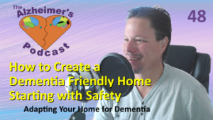 Mike Good hosting episode 48 of The Alzheimer's Podcast