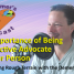 #062: The Importance of Being an Effective Advocate for Your Person
