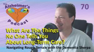 Mike Good hosting episode 70 of The Alzheimer's Podcast