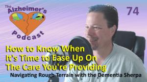Mike Good hosting episode 74 of The Alzheimer's Podcast