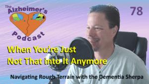 Mike Good hosting episode 78 of The Alzheimer's Podcast